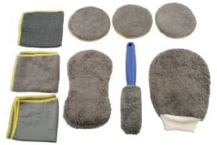 Laser 5556 Microfibre Cleaning Kit - 9 piece